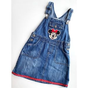 Oshkosh bgosh overall Minnie dress